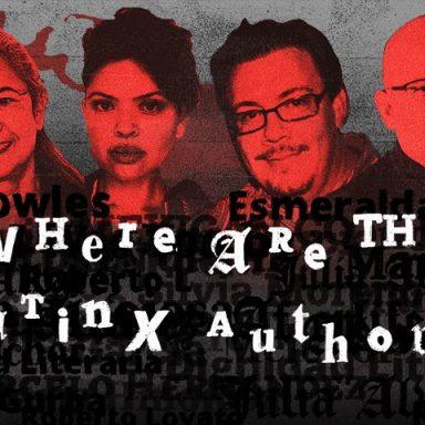 Latinx Authors Find the Bookshelves Blocked