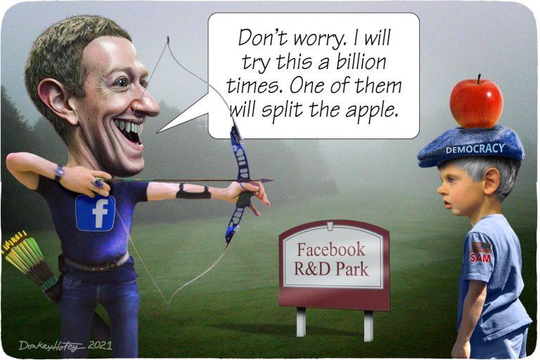 Mark Zuckerberg, Facebook, William Tell