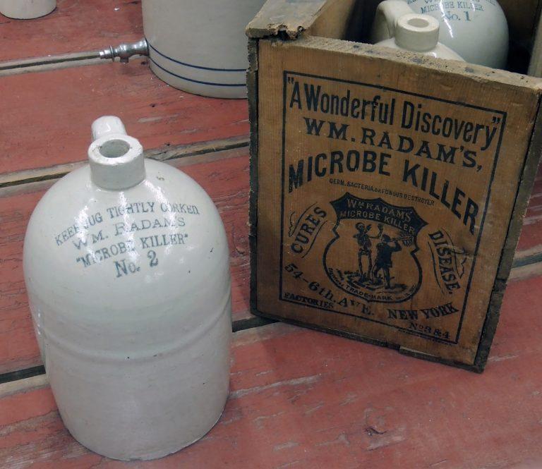 Wm. Radam, Microbe Killer