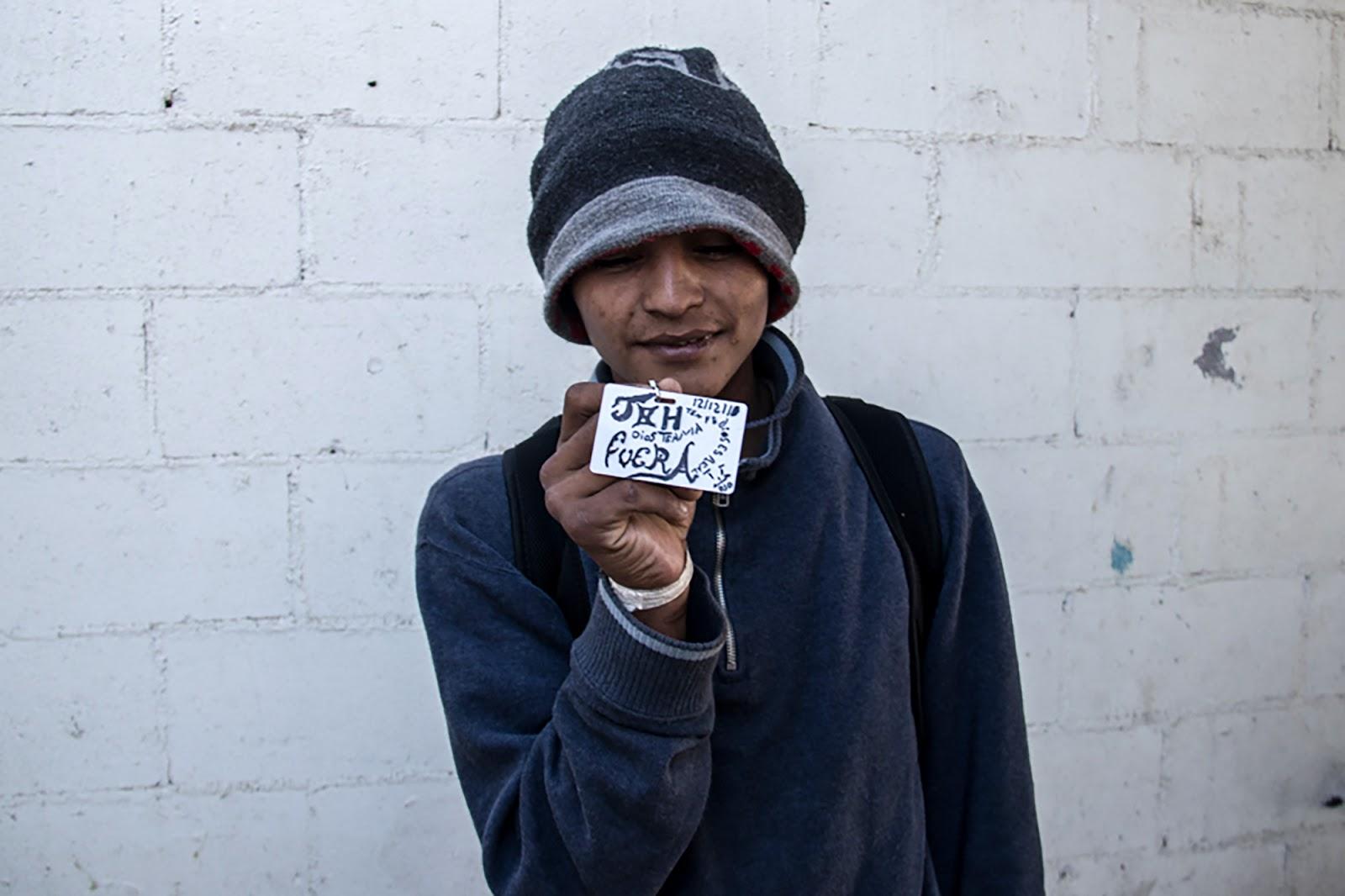 Migrant, ID, Tijuana