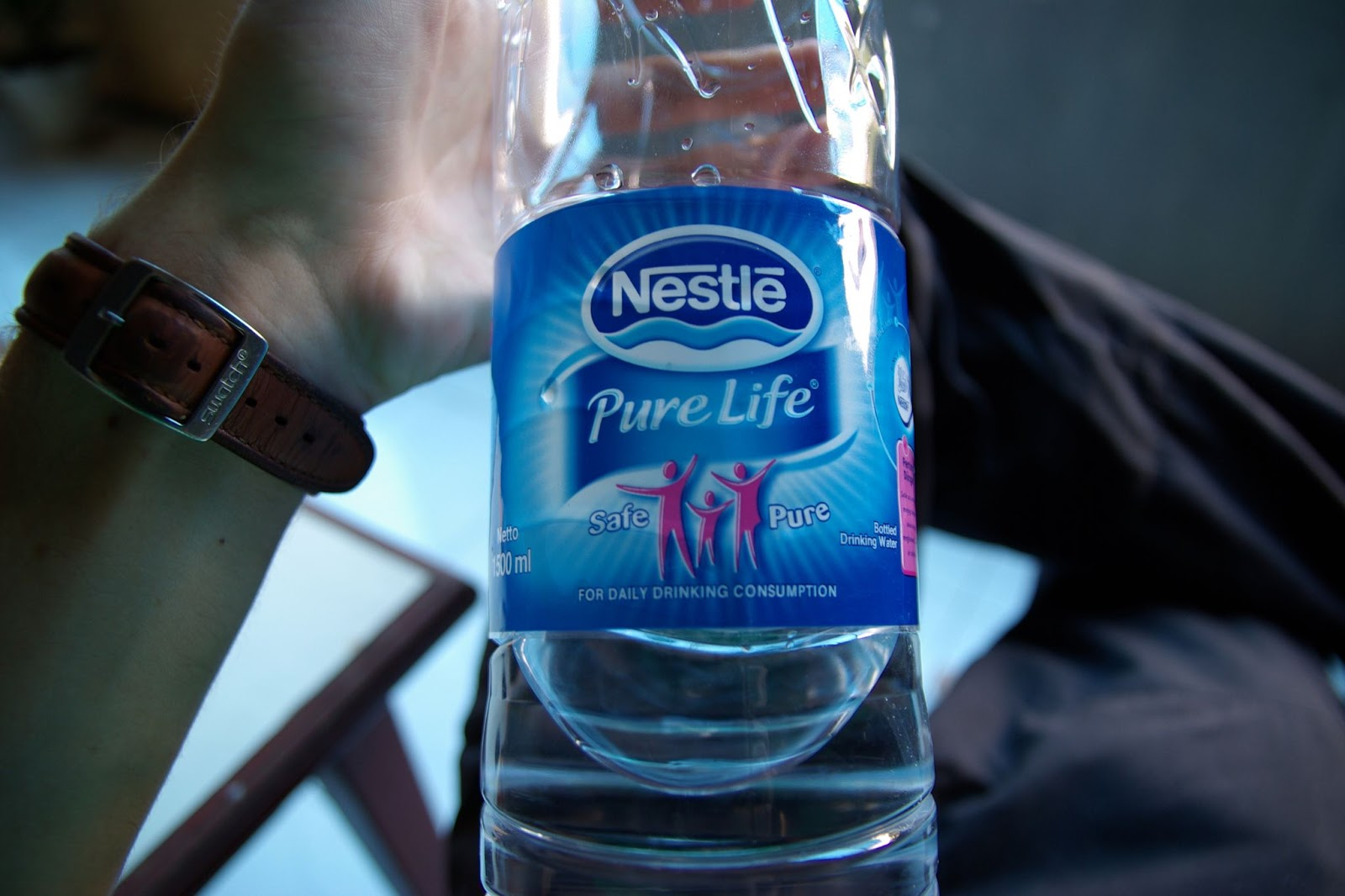 Nestle, Pure Life, bottled water
