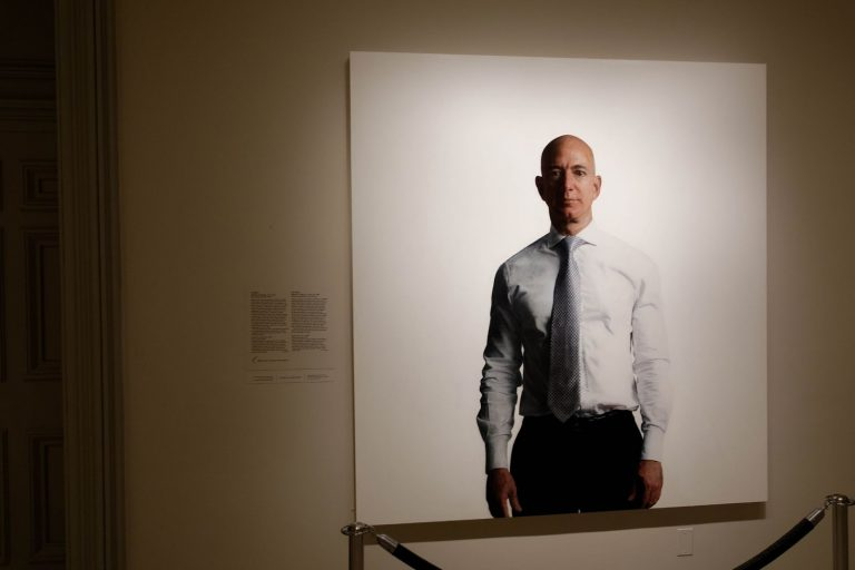 Portrait, Jeff Bezos