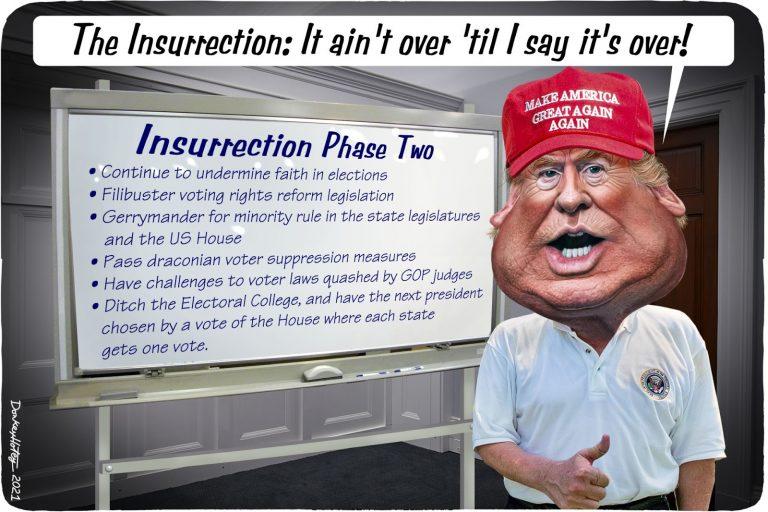 Donald Trump, Insurrection