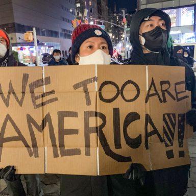 Vigil against Asian hate