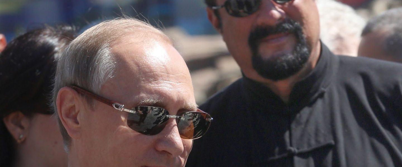 Vladimir Putin, Steven Seagal, Russky Island