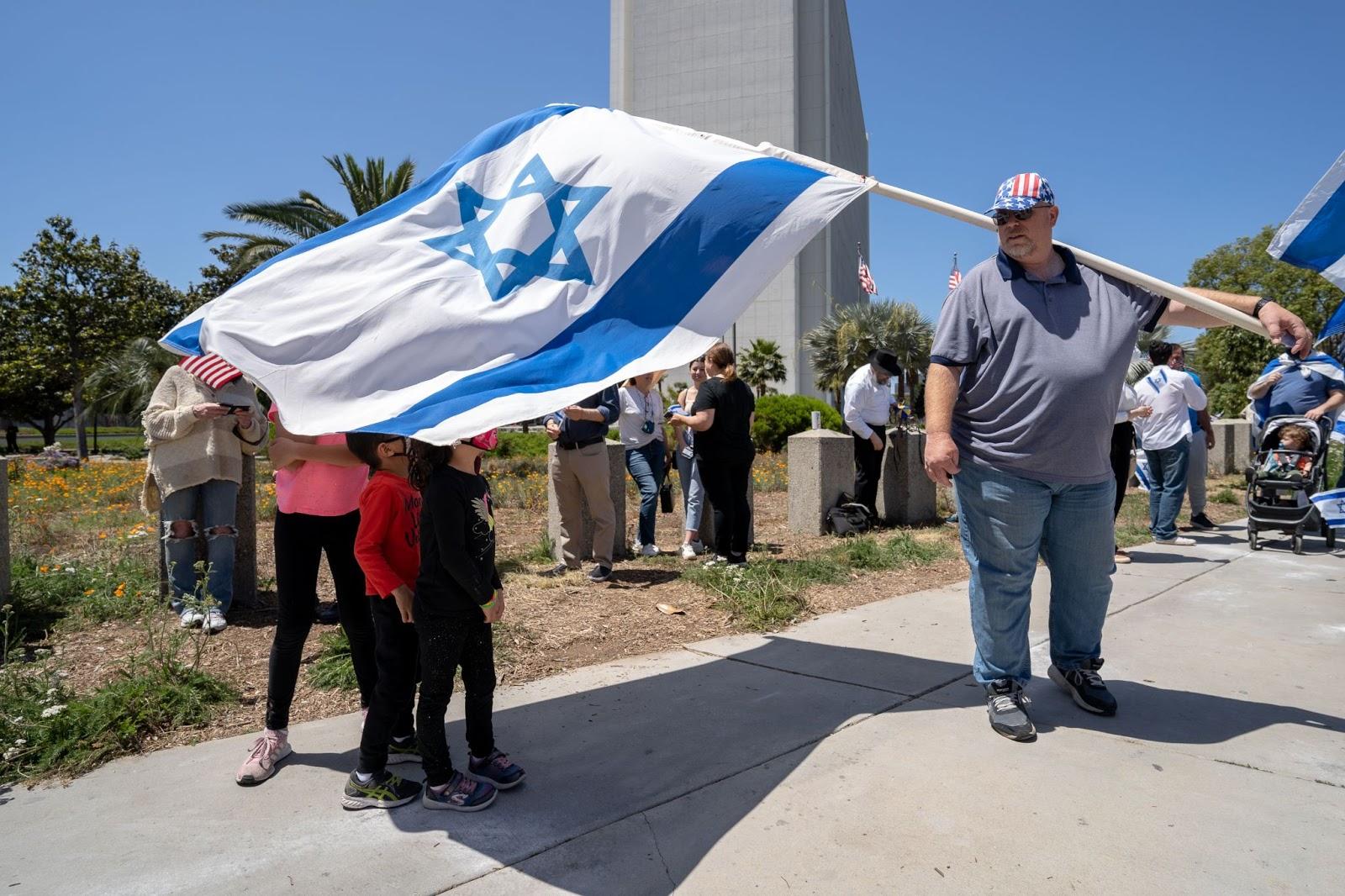 Zionist, Israeli Flag, veil