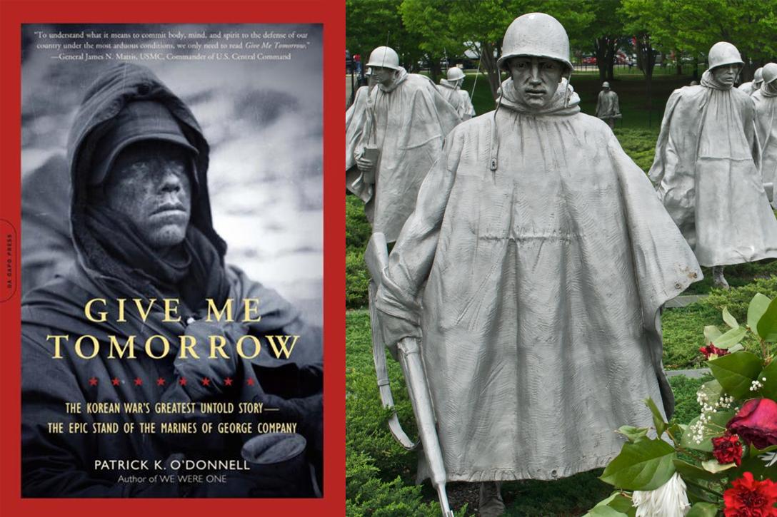 Give Me Tomorrow, Korean War Memorial