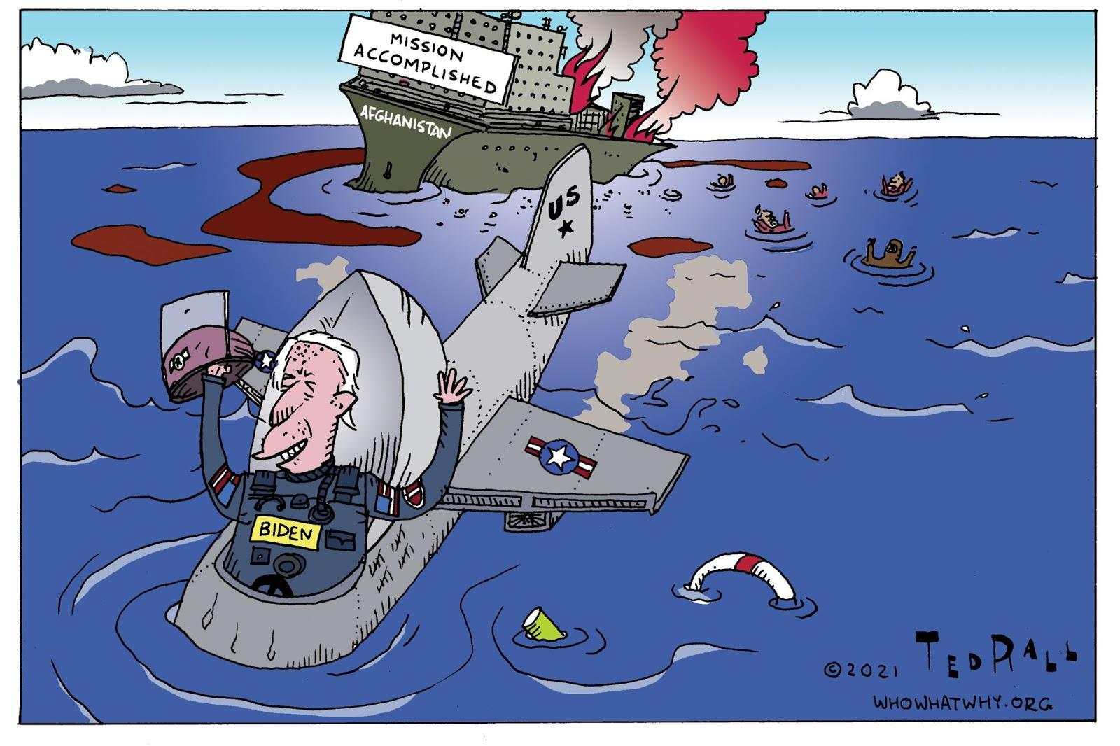 Joe Biden, Afghanistan, Mission Accomplished