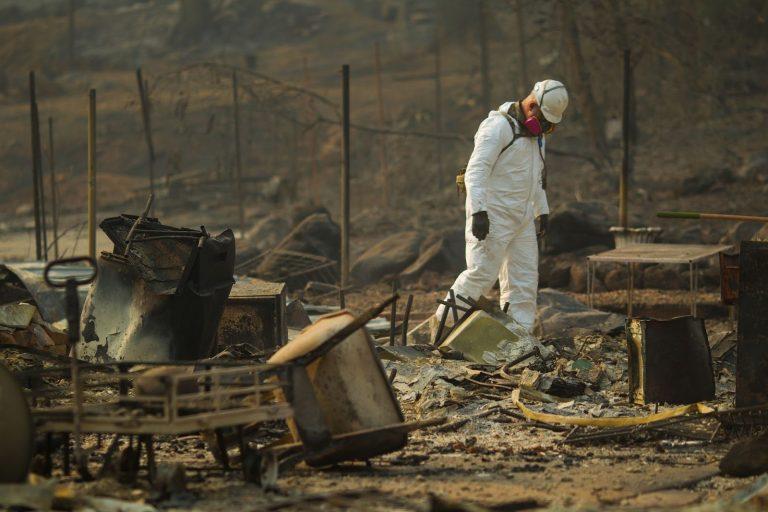 California Army National Guard, Camp Fire