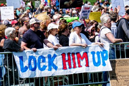 Donald Trump, lock him up