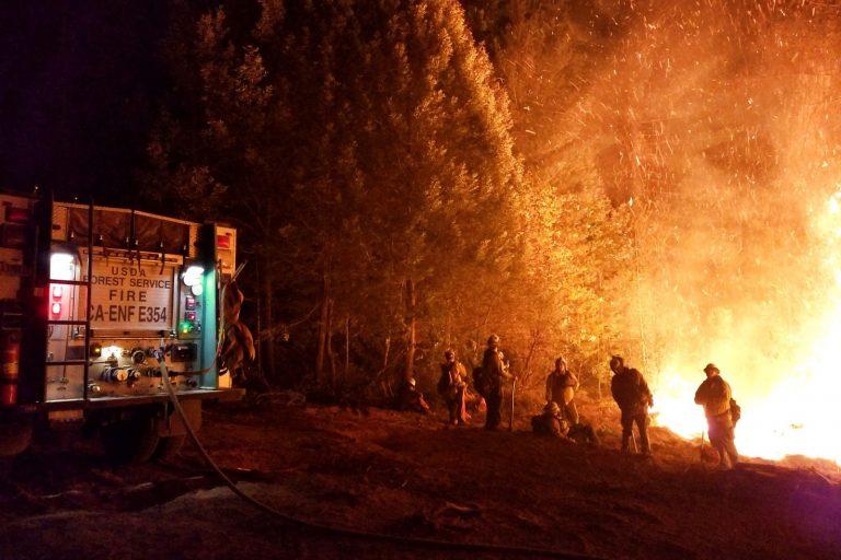 Eldorado National Forest, Camp Fire