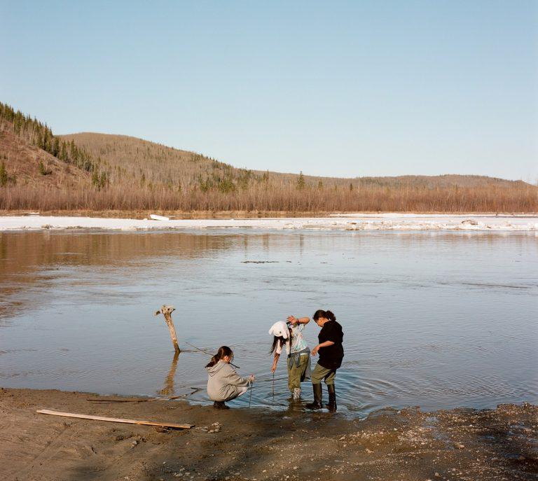 Eva Dawn Burk's children, Nenana, AK