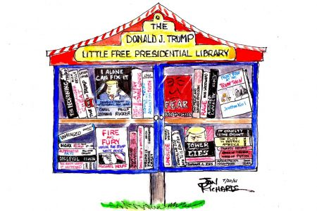 Donald Trump, Presidential Library