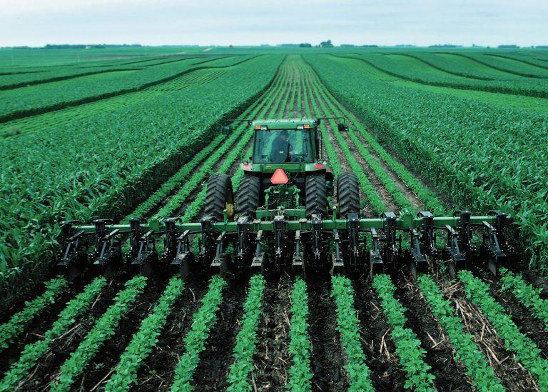 Ridge-tilling, corn, soybeans, Iowa