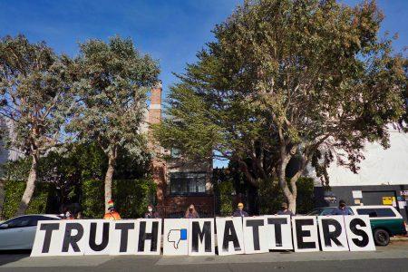 Facebook, COVID-19, vaccine, disinformation, protest