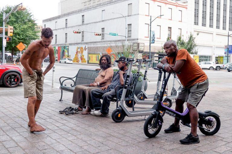 Austin, Texas, homeless, unhoused