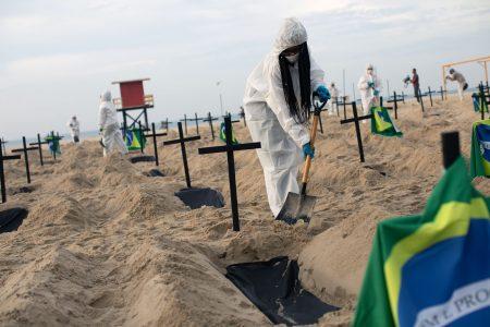 COVID-19 Mass graves, Rio