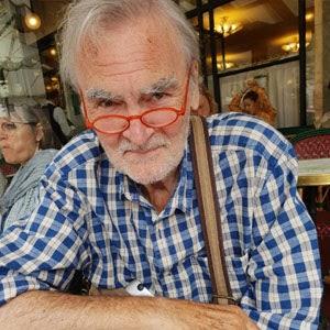 Michel Lavollay, Café Flore, Paris