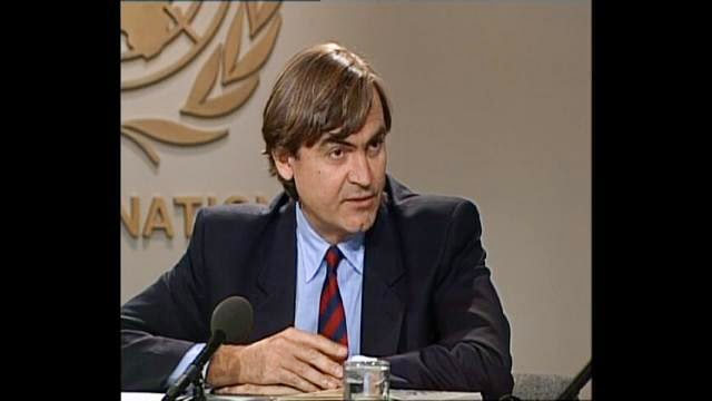 Michel Lavollay, United Nations