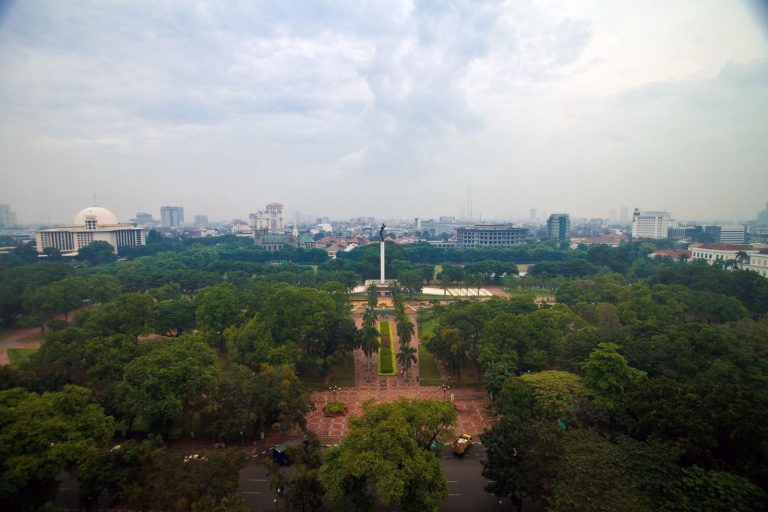 Open space, Jakarta, Indonesia.