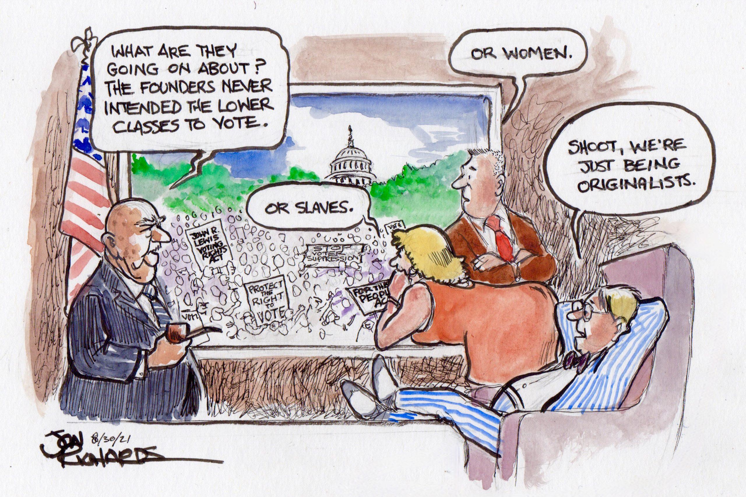 Originalists, constitution