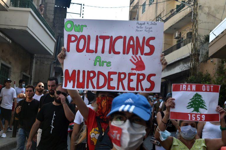Sign, Politicians, Murderers, Beirut, Lebanon