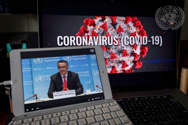 World Health Organization, laptops