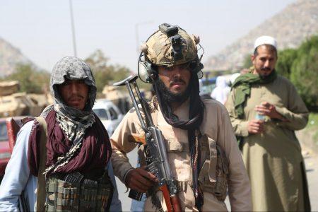 Afghan Taliban fighters, Kabul