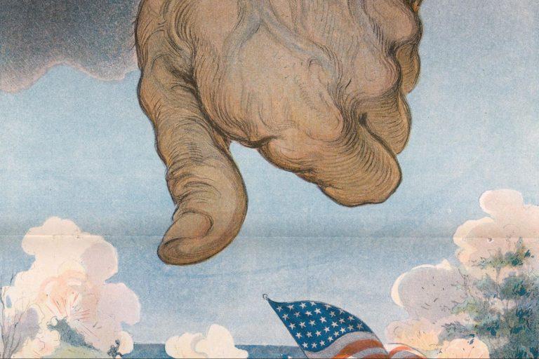 Thumb, American flag