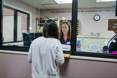 Women's Health clinic, HIPAA