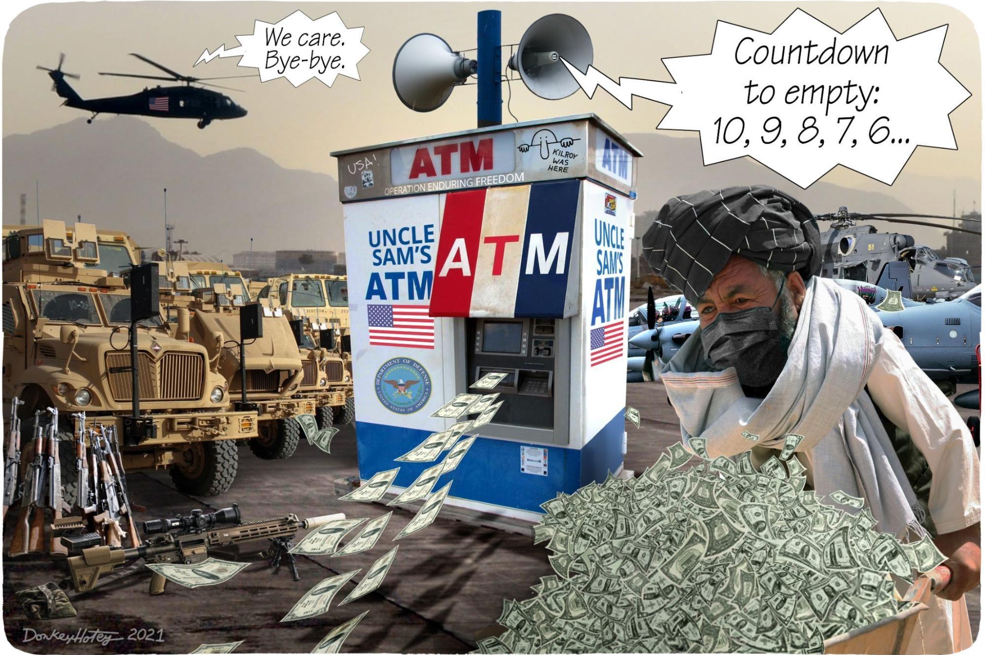 US, Afghanistan, withdrawal