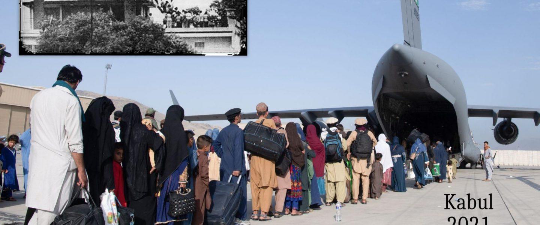Fall of Saigon, Afghanistan evacuation