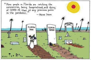 Florida, Ron DeSantis, COVID-19, Deaths