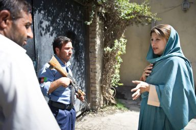 Hassina Syed, Kabul