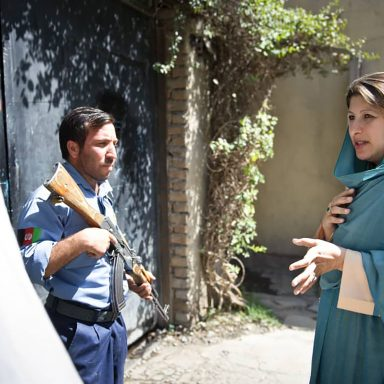 Afghanistan's 'Businesswoman of the Year' Escapes From Kabul