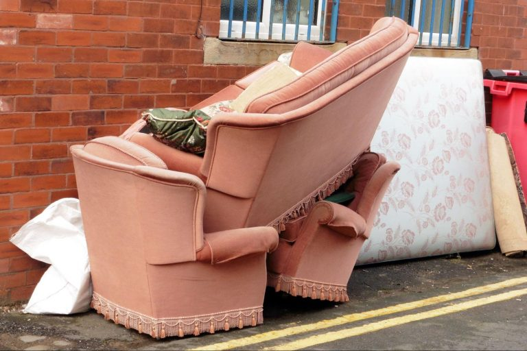 Eviction, furniture, sidewalk