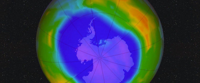 ntarctic ozone hole