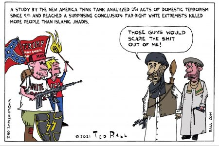 Terrorism, Islamic extremism; far right extremism