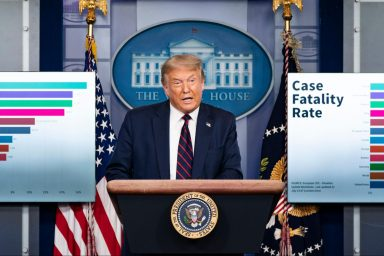 Donald Trump, COVID-19, Taskforce