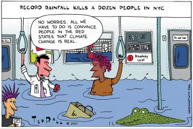 New York City, Storm, Climate Change, Ida
