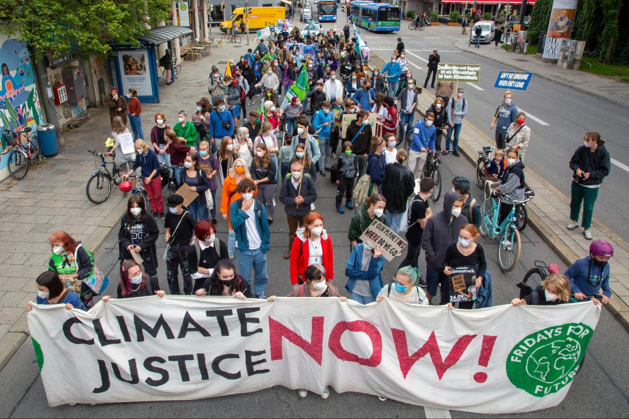Fridays for Future, climate activists, Germany