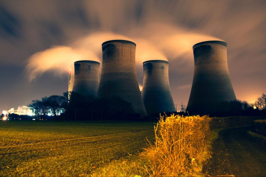 Nuclear power, cooling tower