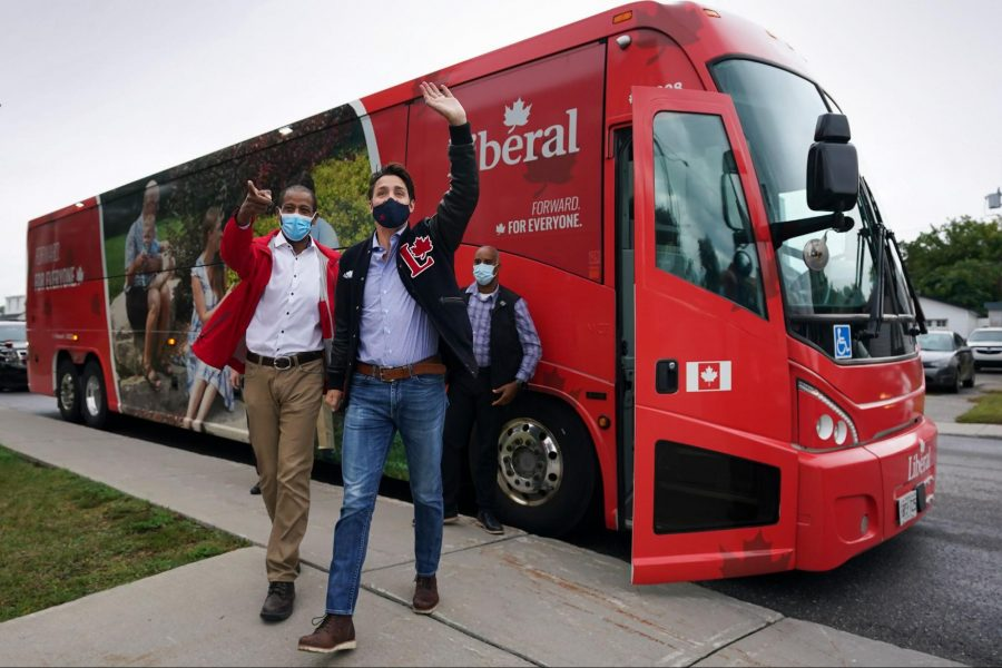 Liberal Party of Canada, Bus