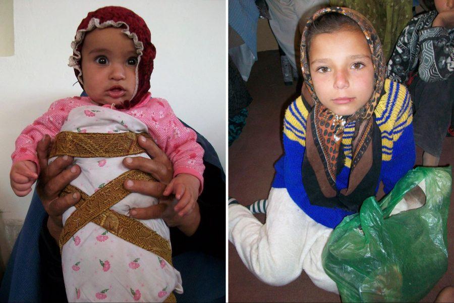 Afghan, children