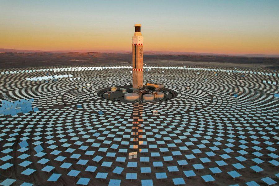Cerro Dominador solar power plant