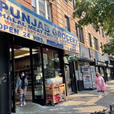 Punjab Grocery & Halal Meat, market, Brooklyn