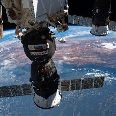 New Cosmonaut Photos Show International Space Station From Rare Perspective