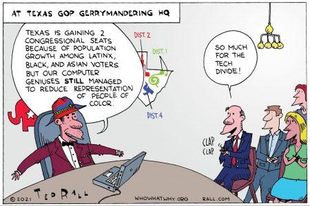 Texas, gerrymandering, Gregg Abbott