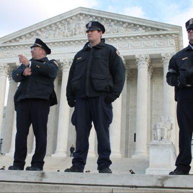 Police, guard, US, Supreme Court