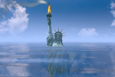 Statue of Liberty, Climate Change